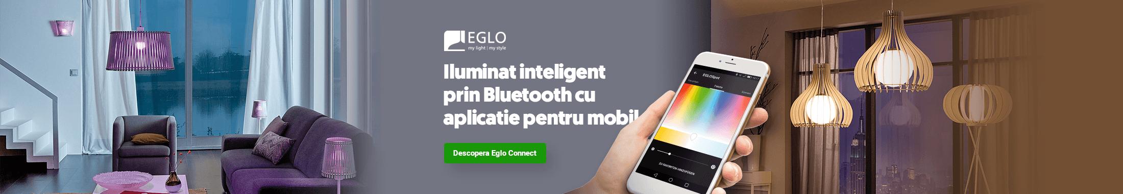 Iluminat inteligent prin Bluetooth cu aplicatie pentru mobil