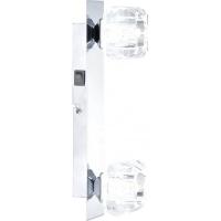 Aplica perete Globo Cubus 5692-2 crom, sticla cristal