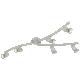 Plafoniera LED Eglo Magnum 92645 cu 6 spoturi orientabile