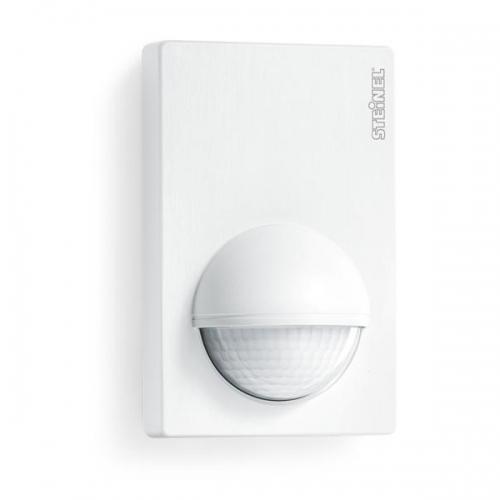 Senzor de miscare infrarosu 180° IP54 perete, Alb