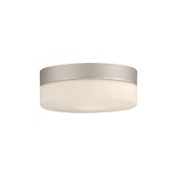 Plafoniera baie moderna rotunda ultraplata Globo Lighting Vranos 1 x 60 W E27 230V IP44 32111