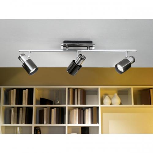 Plafoniera Eglo Davida 1 30834, 3x5W LED, Crom