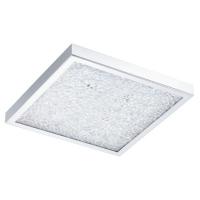Plafoniera Eglo Cardito 92781, 19W+4x3W LED, Crom