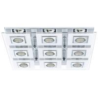 Plafoniera Eglo Cabo 92877, 9x2,5W LED, Crom
