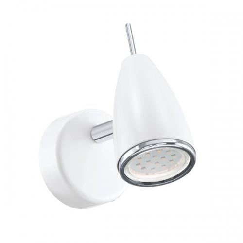 Aplica Eglo Riccio 2 93128, 1x3W LED, Alb