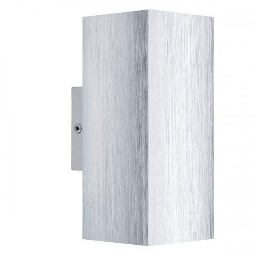 Aplica Eglo Madras 2 93127, 2x3W LED, Aluminiu