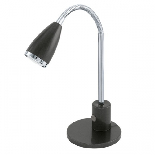 Lampa de birou Eglo Fox 92873, 1x2,5W LED, Antracit