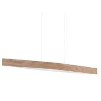 Suspensie Eglo Fornes 93342, 4x6W LED, Stejar-natur