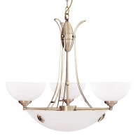 Lustra Rabalux Pearl 8523, 300W, Bronz