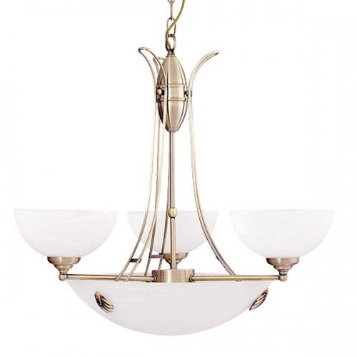 Lustra Rabalux Pearl 8523, 300W, Bronz
