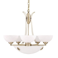 Lustra Rabalux Pearl 8525, 380W, Bronz