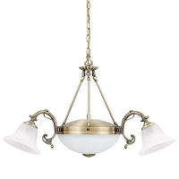 Lustra Rabalux Orchidea 8553, 240W, Bronz