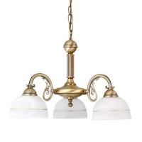 Lustra dormitor clasica Rabalux Flossi 8813, 3x40W, bronz