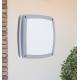 Plafoniera Rabalux Saba 8188, 2x60W, Argintiu