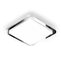 Plafoniera RS LED D1 cu senzor de miscare, Crom