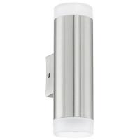 Aplica Eglo Riga-LED 92736, 2x2.5W, Argintiu