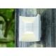 Aplica Eglo Redondo 93367, 2x2.5W LED, Alb