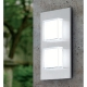 Aplica Eglo Pias 93365, 2x2.5W LED, Inox