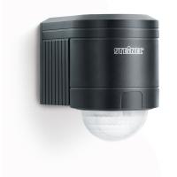 Senzor de miscare infrarosu 240° IP54, Negru