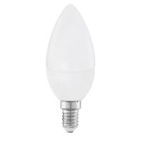 Bec Eglo E14-LED lumanare, 4W, alb cald, 11421