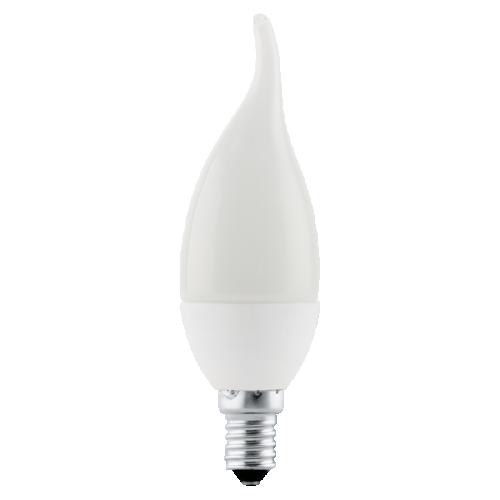 Bec Eglo E14-LED flacara, 4W, alb cald, 11422