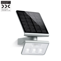Reflector XSolar LED 671013 cu senzor, Argintiu