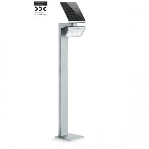 Proiector XSolar LED GL-S 671211 cu senzor, Argintiu