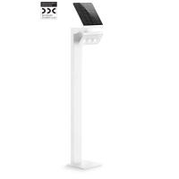 Proiector XSolar LED GL-S 671204 cu senzor, Alb