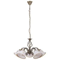 Lustra sufragerie clasica Rabalux Art flower 7175, 5xE14, bronz
