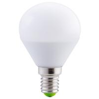 Bec E14-LED-G45, 5W, alb cald