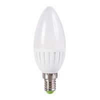 Bec E14-LED-C37, 5W, alb cald