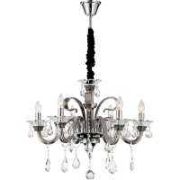 Dunja Globo 64104-6, candelabru cristal