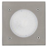 Spot LED pt podea Lamedo 93481, 2.5W patrat IP65/IP67