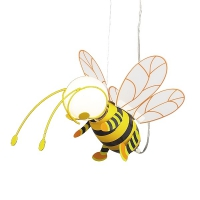 Bee 4718 Rabalux, pendul, E27, 1x40W, Galben