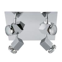 Zabella 93324 Eglo, spot, GU10-LED, 4x5W, patrat
