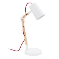 Torona 94033 Eglo, lampa de birou, E27, 1x60W, Alba