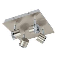 Pierino 93696 Eglo, spot LED, 4x5W, Nichel Crom