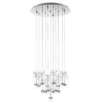 Candelabru LED cristale, 15x2.5W, Pianopoli 93662 Eglo
