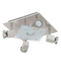PaWedo 93084 Eglo, GU10-LED, 5x3W, Nichel