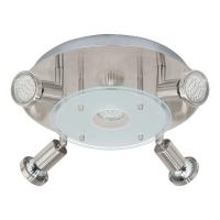 PaWedo 93083 Eglo, GU10-LED, 5x3W, Nichel