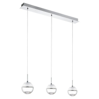Montefio 1 93784 Eglo, suspensie LED, 3x5W, Crom
