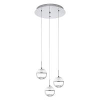 Montefio 1 93709 Eglo, suspensie LED, 3x5W, Crom, Round