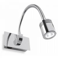 Lampa de citit Ideal Lux DYNAMO AP1 CROMO 31460