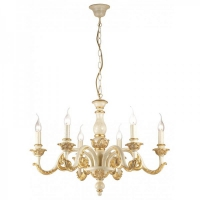 Lustra Ideal Lux GIGLIO SP6 ORO 75327