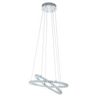 Suspensie cristal Varrazo 31667 Eglo, 29,6W LED, crom