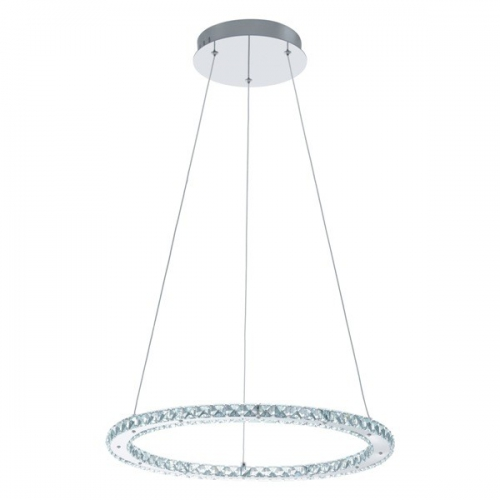 Lustra cristal Varrazo 31668 Eglo, 16.8W LED, rotunda