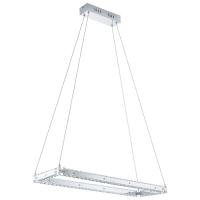 Suspensie Cristal Varrazo 31669 Eglo, 17W LED, patrata