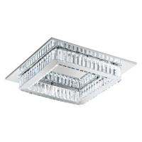 Plafoniera cristal Corliano 39016 Eglo, 24W LED, 500x500