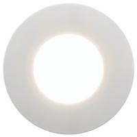 Spot incastrat exterior Margo 94093 Eglo, 1x5W GU10, alb