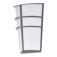 Aplica exterior Breganzo 94137 Eglo, 2x2,5W LED, argintiu